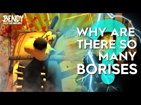 Why are there so many Boris Clones?! (Bendy & the Ink Machine Theories)