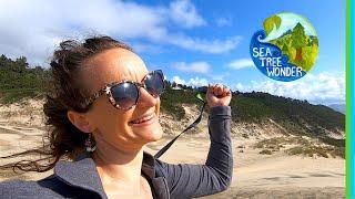 Sand Inspires Wonder & Adventure on the Oregon Coast