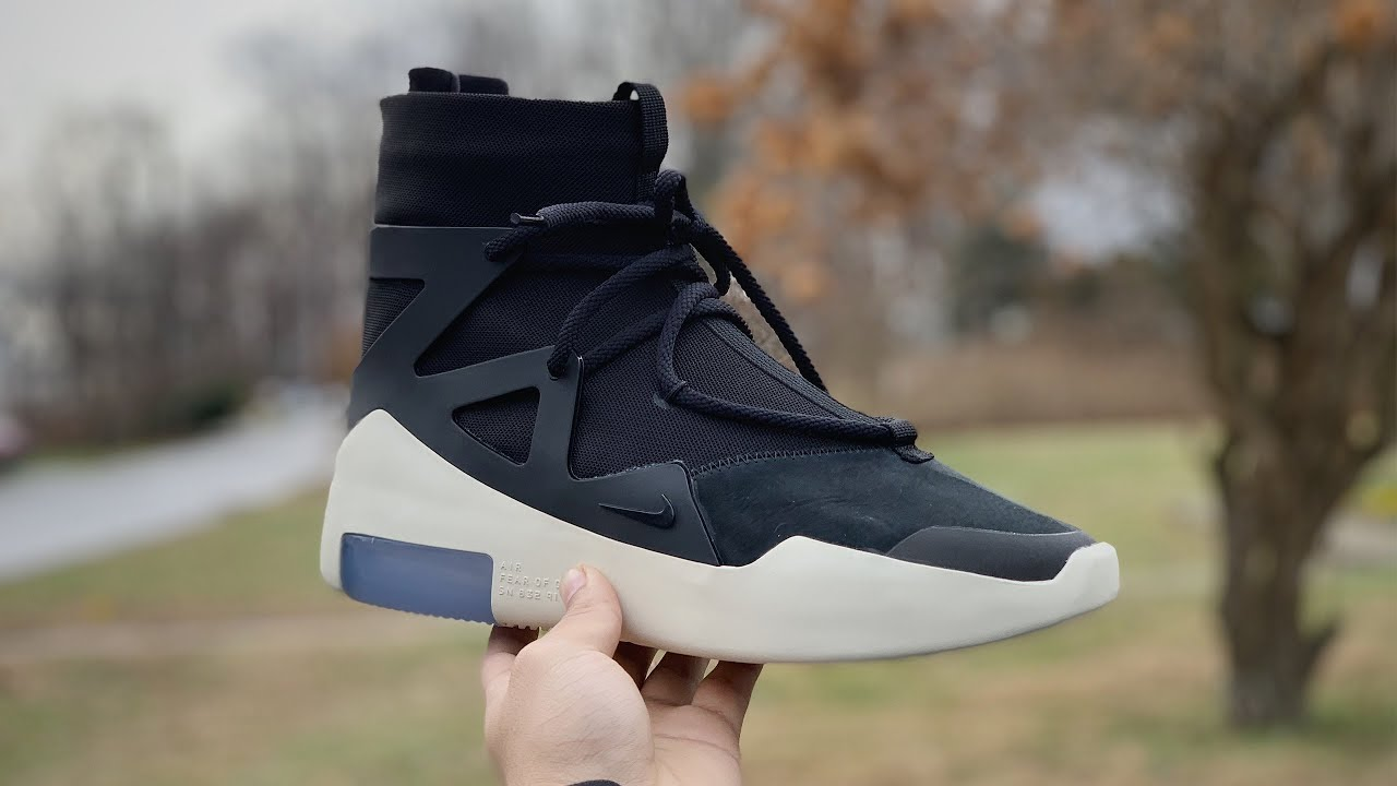 c32b9d658a Nike x Fear of God 1 Full Review   On-Feet