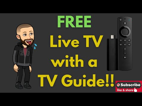 Free Live TV With TV Guide For The Amazon Firestick