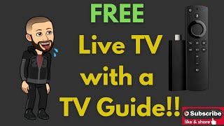 Updated link in the description. Free Live TV with TV Guide for the Amazon Firestick
