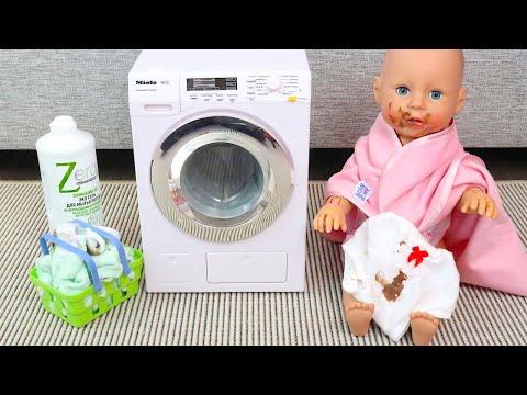 Шоколадные Сны Беби Анабель Перепачкала Всю Одежду Мультики Как Мама Играла в Куклы 108мама тв