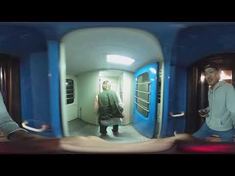 【360度カメラ】アフリカの電車内を撮ってみた