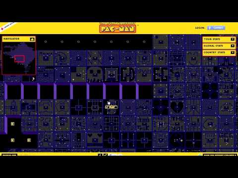 World's biggest Pac-Man game