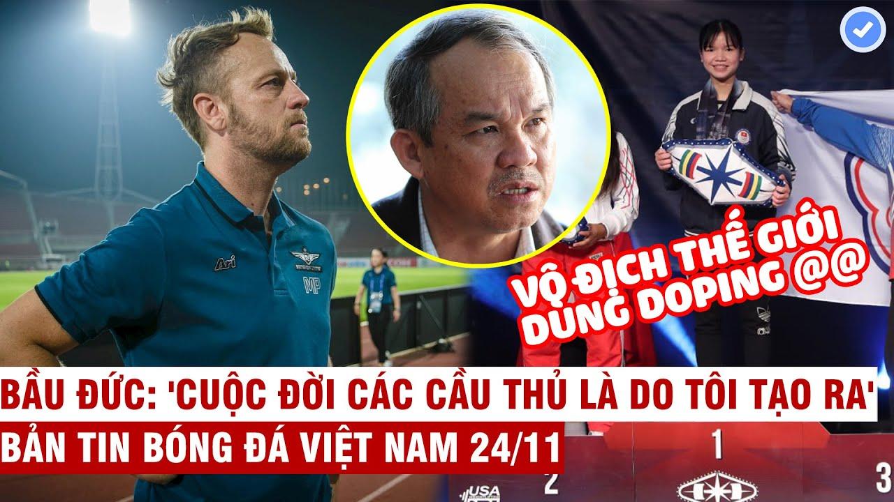 VN Sports 24/11 | HCM gây sốt với báo chí Thái với HLV bom tấn, 2 lực sỹ trẻ TG của VN dính doping