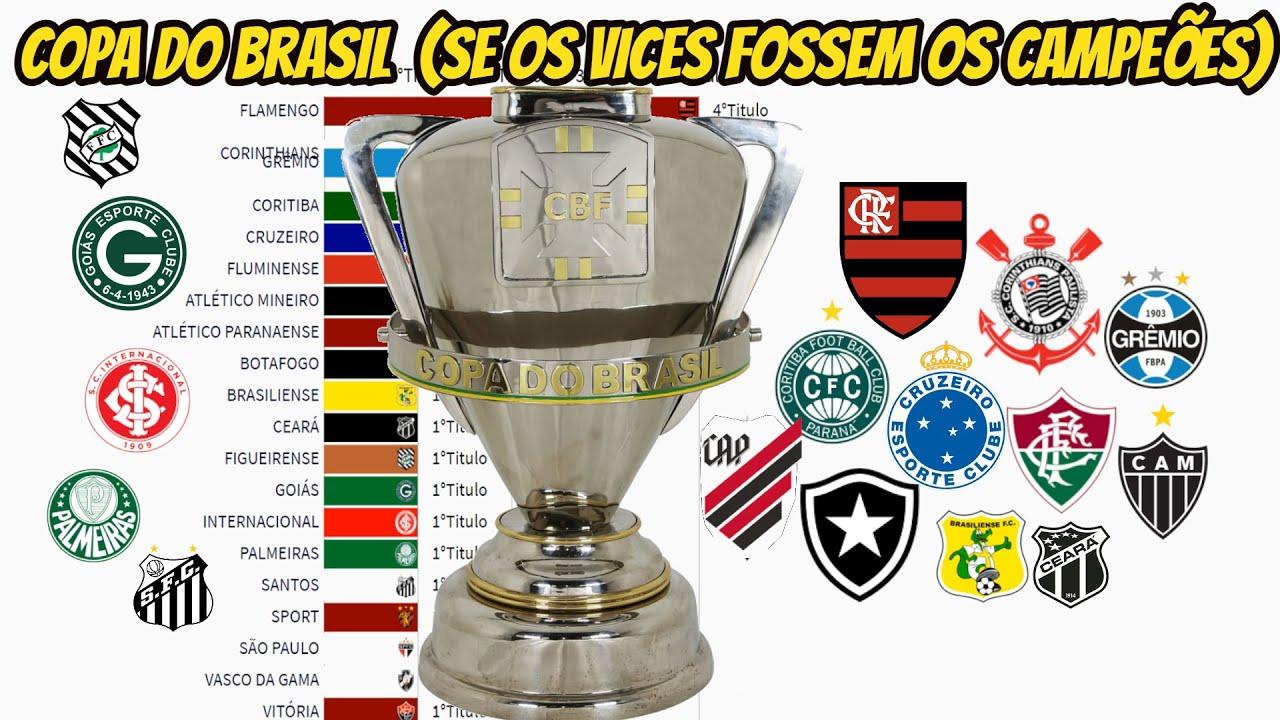 E SE OS VICES FOSSEM OS CAMPEÕES DA COPA DO BRASIL (1989-2020)