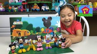 米老鼠俱樂部黏土迪斯尼少年卡通玩具米妮和高飛兒童玩具回顧null