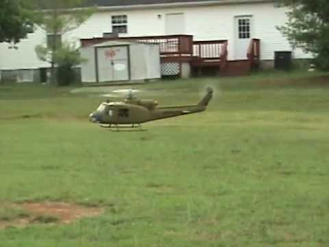 Trex 500, RC Aerodyne UH-1 Huey fuselage