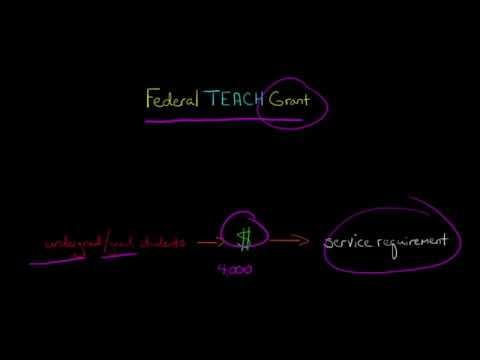 The Federal TEACH Grant