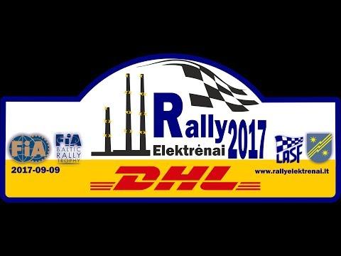 """Rally Elektrėnai 2017"""" 1 gr"""