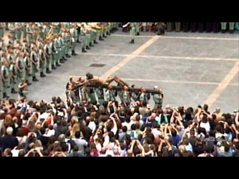 EL NOVIO DE LA MUERTE: La Legión con su Cristo (Málaga 2012)