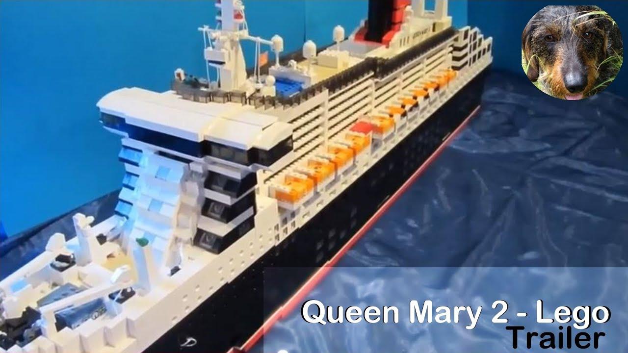 Lego Queen Mary 2-Trailer