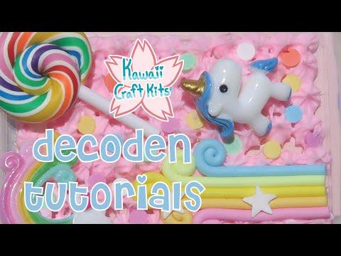 Intro to Decoden! (August 2019 Kawaii Craft Kits)