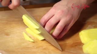 Жарим картофель фри без лишнего масла