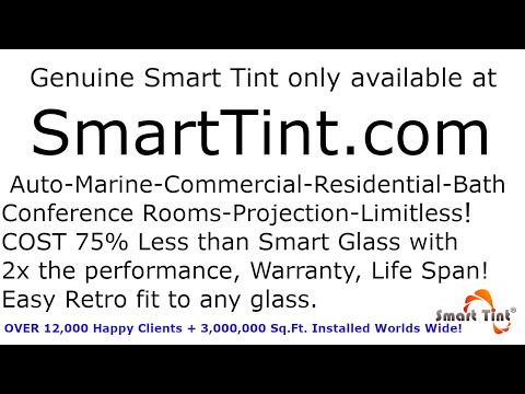 Smart Tint Automotive Film Installation Demo