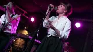 Savoir Adore - Sea of Gold, Mercury Lounge (late show), NYC 9/22/12