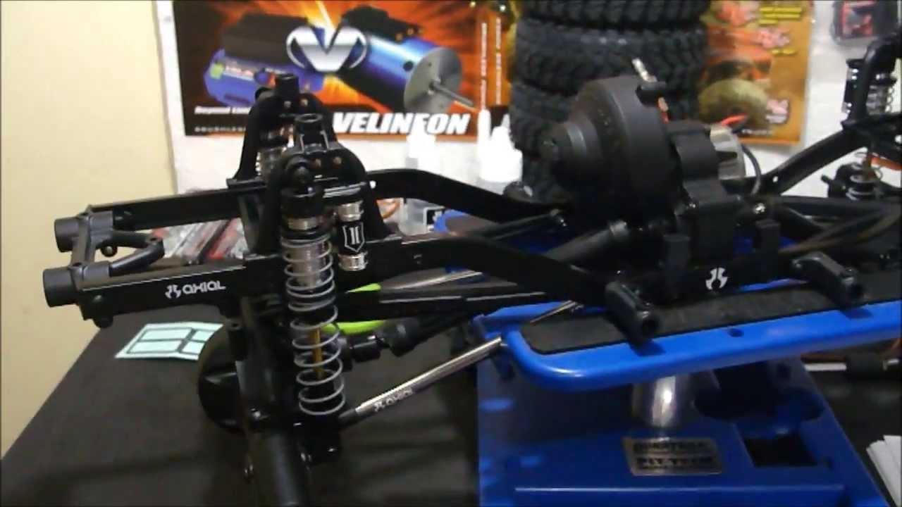 Montagem Kit Axial Scx10 Jeep Rubicon Parte 3 Chassi