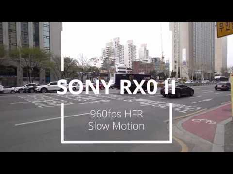 SONY RX0 II 960fps HFR Slo-Mo Video