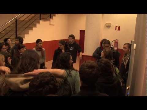 Vaga General 29 de Març. Piquets Informatius dins les Aules UIB.