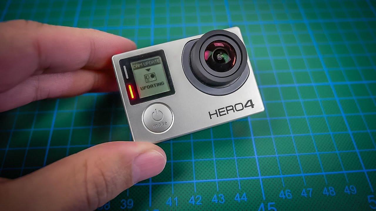gopro hero4 silver manual update