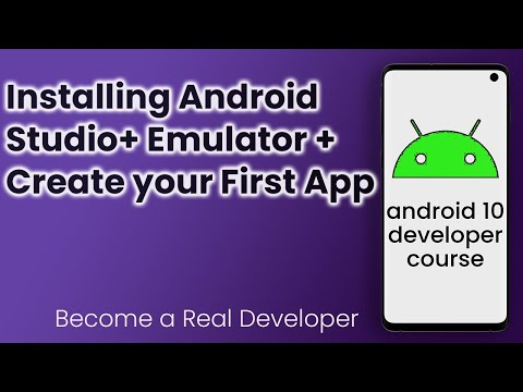 How To Download & Install Android Studio 2019 + Configure Emulator + Run Your First App