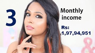 Top 5 female Indian youtubers | Their story | How much they earn from youtube