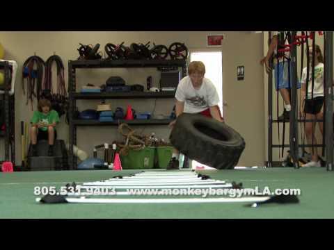 Kids Love to Train at Monkey Bar Gymnasium LA
