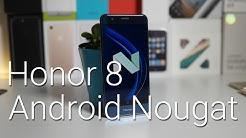 Honor 8 ja Android Nougat -päivitys (EMUI 5.0)