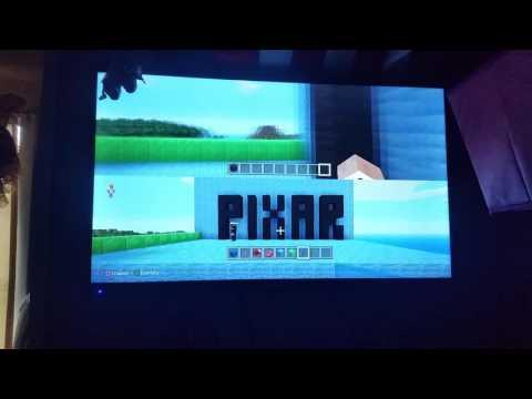 Pixar in Minecraft