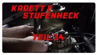 1990er Kadett E Stufenheck #Edgar - Teil 34: Am Motor fummeln [4K]