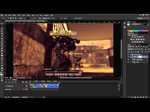Photoshop CS6| Video Editor Tutorial