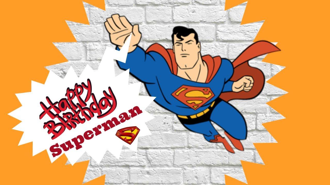 Открытки с днем рождения супергерои
