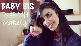 TAG | Baby Sis Inayah Does My Makeup