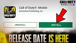 Call of Duty Mobile: Official Release Date is Here | Get Ready PUBG Mobile