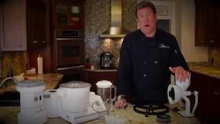 Chef Brad explains Wonder Junior hand crank grain mill.