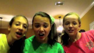 We Are Never Ever Getting Back Together Music Video by Casey, Allie, and Molly