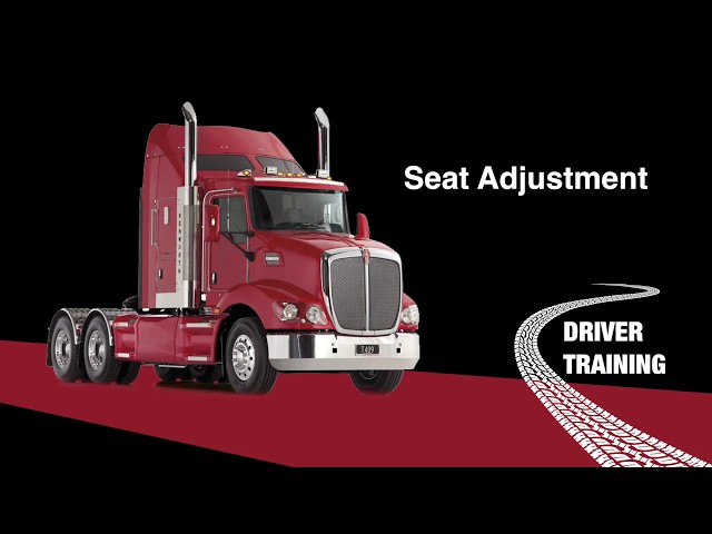 Kenworth T409 ISRI Seat Adjustment 0119