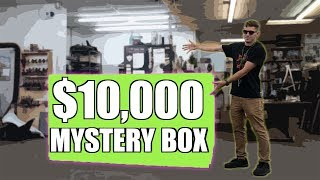 I Lost A Bet And Bought This - $10,000 Mystery Box Motorcycle Unboxing