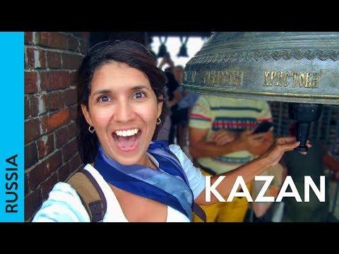 KAZAN, Russia | Tour at Bauman Street & Tatar food (2018 vlog | каза́нь)