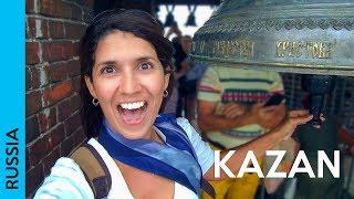 KAZAN, Russia   Tour at Bauman Street & Tatar food (2018 vlog   каза́нь)