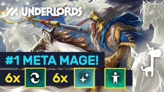 #1 META MAGE! High Rank Primordial Mages Are Great! | Dota Underlords