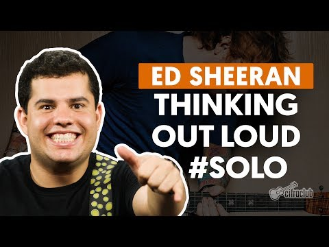 Thinking Out Loud - Ed Sheeran  (How to Play - Guitar Solo Lesson)