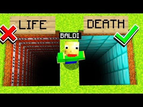 TROLLING BALDI'S BASICS IN MINECRAFT (Ps3/Xbox360/PS4/XboxOne/PE/MCPE)