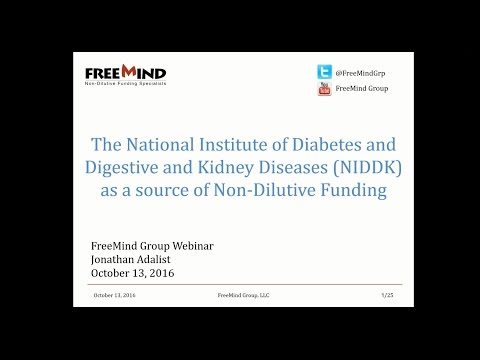 A Look at the National Institute of Diabetes and Digestive and Kidney Diseases (NIDDK)