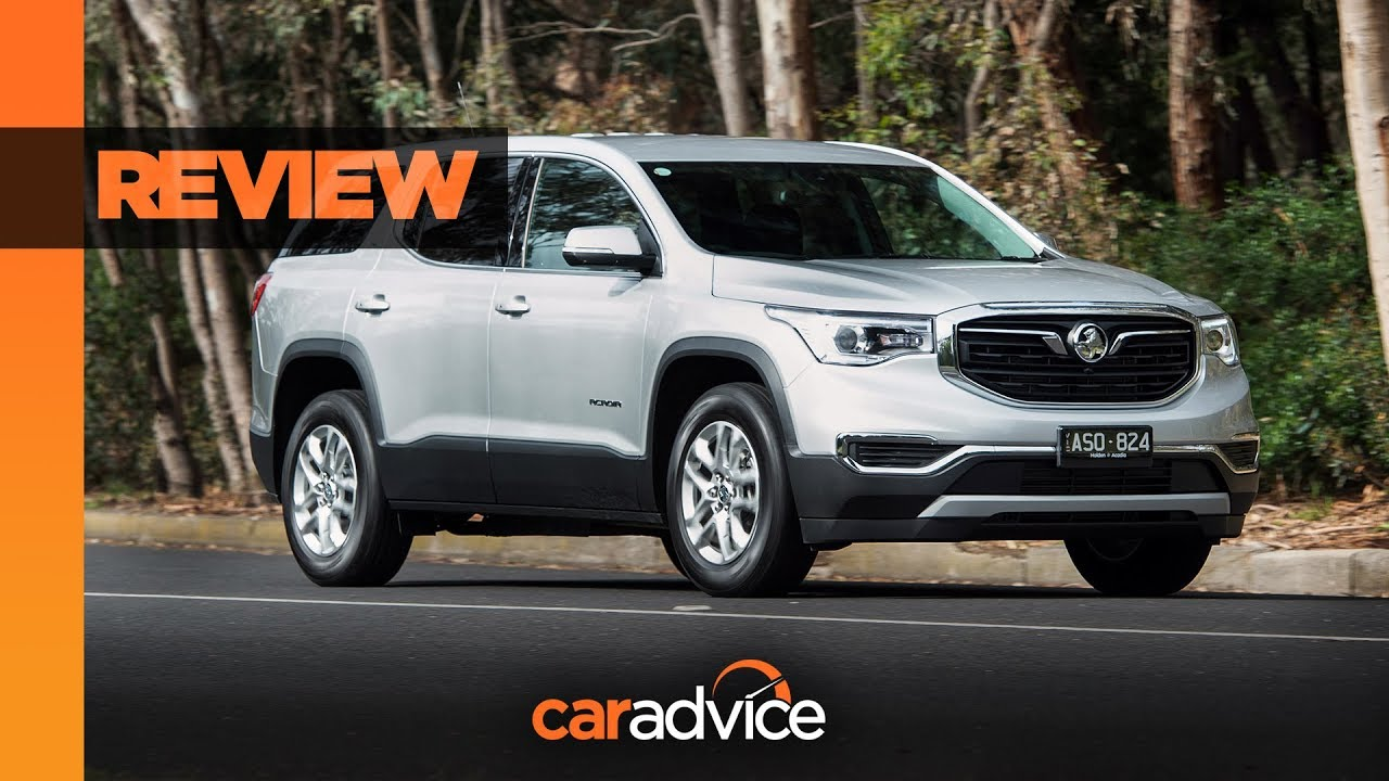 REVIEW: Holden's big Acadia tested in AWD LT spec