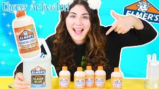 ELMERS MAGICAL LIQUID (ELMERS SLÏME ACTIVATOR) Testing out elmers new products | Slimeatory #243