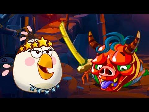 Мультик игра для детей Angry Birds Epic #97 энгри бердс ключик открыл дверь злых птичек #КРУТИЛКИНЫ