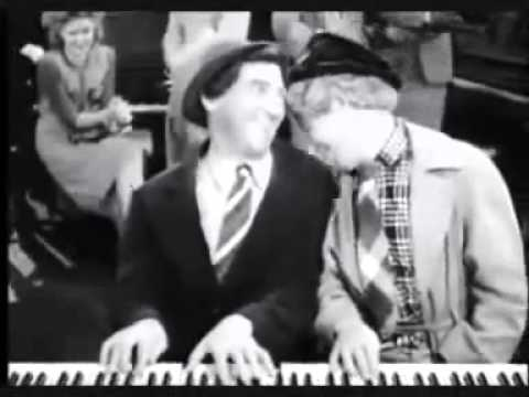 Chico and Harpo Marx in a piano duet - YouTube