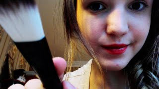 ASMR Makeup Role Play & Eyebrows Trimming (ENG, Soft Spoken)(, 2016-01-19T17:40:44.000Z)