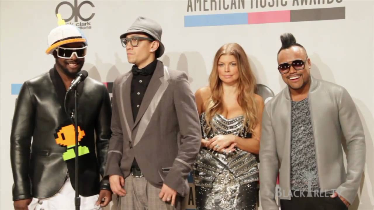 Download Black Eyed Peas: 2010 AMA Favorite Band Backstage